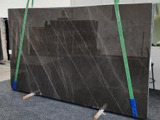 Lieferung polierte Unmaßplatten 3 cm aus Natur Marmor GRAFFITE 1324. Detail Bild Fotos