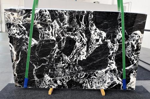 Lieferung polierte Unmaßplatten 2 cm aus Natur Marmor GRAND ANTIQUE 1252. Detail Bild Fotos