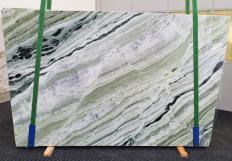 Lieferung polierte Unmaßplatten 2 cm aus Natur Marmor GREEN BEAUTY 1452. Detail Bild Fotos