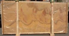 Lieferung polierte Unmaßplatten 2 cm aus Natur Onyx HONEY ONYX 14361. Detail Bild Fotos
