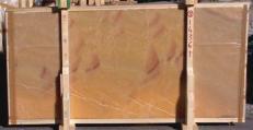 Lieferung polierte Unmaßplatten 2 cm aus Natur Onyx HONEY ONYX 14361_L5. Detail Bild Fotos