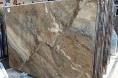 Lieferung polierte Unmaßplatten 2 cm aus Natur Marmor ILLUSION BRONZE U0103. Detail Bild Fotos