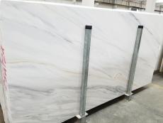 Lieferung polierte Unmaßplatten 2 cm aus Natur Dolomit LASA BIANCO VENA ORO 1669M. Detail Bild Fotos