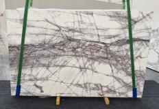 Lieferung polierte Unmaßplatten 2 cm aus Natur Marmor LILAC 1260. Detail Bild Fotos