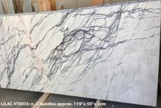 Lieferung geschliffene Unmaßplatten 2 cm aus Natur Marmor LILAC AA T0035. Detail Bild Fotos