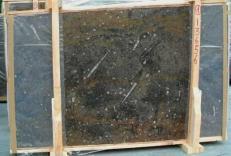 Lieferung polierte Unmaßplatten 2 cm aus Natur Marmor MARRON FOSSIL E-13656. Detail Bild Fotos