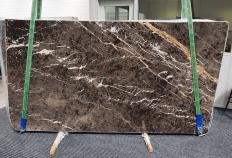 Lieferung polierte Unmaßplatten 2 cm aus Natur Marmor MARRON IRIS 1404. Detail Bild Fotos