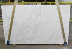 Lieferung polierte Unmaßplatten 3 cm aus Natur Marmor MYSTERY WHITE 24915. Detail Bild Fotos