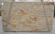 Lieferung polierte Unmaßplatten 3 cm aus Natur Quarzit NACARADO BQ01693. Detail Bild Fotos