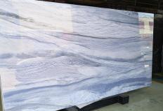 Lieferung polierte Unmaßplatten 1.8 cm aus hitzebeständigem Gussglas NANO AZUL MACAU Model-AM. Detail Bild Fotos