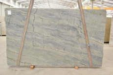 Lieferung polierte Unmaßplatten 1.18 cm aus Natur Quarzit OCEAN BLUE 2382. Detail Bild Fotos