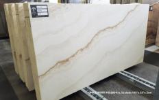 Lieferung polierte Unmaßplatten 2 cm aus Natur Onyx ONICE IVORY UL0034. Detail Bild Fotos