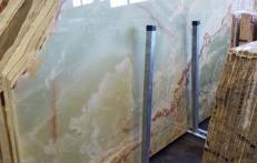 Lieferung polierte Unmaßplatten 2 cm aus Natur Onyx ONICE PAKISTAN AA S0240. Detail Bild Fotos