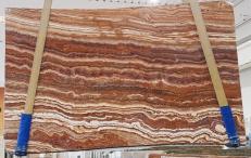 Lieferung polierte Unmaßplatten 2 cm aus Natur Onyx ONICE PASSION U0283. Detail Bild Fotos