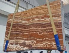 Lieferung geschliffene Unmaßplatten 2 cm aus Natur Onyx ONICE PASSION U0283. Detail Bild Fotos