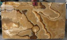 Lieferung polierte Unmaßplatten 2 cm aus Natur Onyx ONYX CAPPUCCINO E-OA14637. Detail Bild Fotos