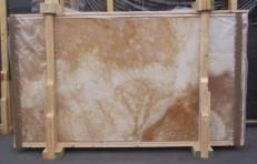 Lieferung polierte Unmaßplatten 2 cm aus Natur Onyx ONYX CAPPUCCINO E_15223. Detail Bild Fotos