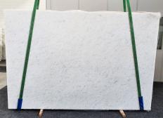 Lieferung polierte Unmaßplatten 3 cm aus Natur Marmor OPAL WHITE 1382. Detail Bild Fotos