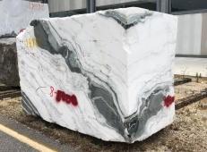 Lieferung rohe Blöcke 84 cm aus Natur Marmor PANDA 1517M. Detail Bild Fotos