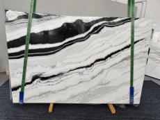 Lieferung polierte Unmaßplatten 2 cm aus Natur Marmor PANDA 1335. Detail Bild Fotos