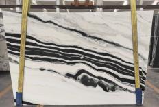 Lieferung polierte Unmaßplatten 2 cm aus Natur Marmor PANDA 1771M. Detail Bild Fotos