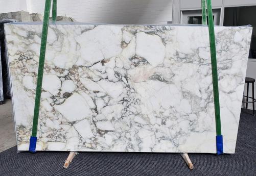 Lieferung polierte Unmaßplatten 2 cm aus Natur Marmor PAONAZZO VAGLI 1363. Detail Bild Fotos