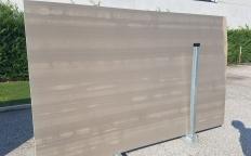 Lieferung geschliffene Unmaßplatten 2 cm aus Natur Marmor RIVER GREY ZL0091. Detail Bild Fotos