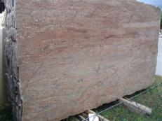 Lieferung polierte Unmaßplatten 2 cm aus Natur Granit ROSEWOOD EDM25112. Detail Bild Fotos