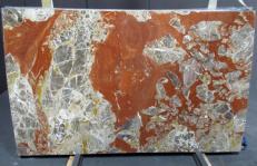 Lieferung polierte Unmaßplatten 2 cm aus Natur Marmor ROSSO ANTICO DM040. Detail Bild Fotos