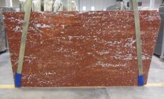 Lieferung polierte Unmaßplatten 3 cm aus Natur Marmor ROSSO FRANCIA 1007M. Detail Bild Fotos