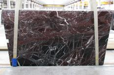 Lieferung polierte Unmaßplatten 2 cm aus Natur Marmor ROSSO LEVANTO 1712M. Detail Bild Fotos