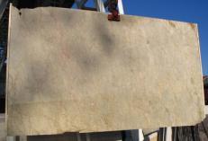 Lieferung polierte Unmaßplatten 2 cm aus Natur Marmor SAHARA GOLD E-41104. Detail Bild Fotos