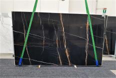 Lieferung polierte Unmaßplatten 2 cm aus Natur Marmor Sahara Noir 1318. Detail Bild Fotos
