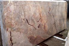 Lieferung polierte Unmaßplatten 2 cm aus Natur Marmor SARRANCOLIN IM002027. Detail Bild Fotos