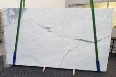 Lieferung polierte Unmaßplatten 2 cm aus Natur Marmor STATUARIETTO 1290. Detail Bild Fotos