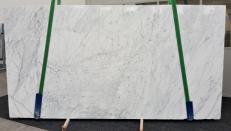 Lieferung polierte Unmaßplatten 2 cm aus Natur Marmor STATUARIETTO GL 980. Detail Bild Fotos