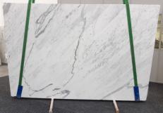 Lieferung polierte Unmaßplatten 2 cm aus Natur Marmor STATUARIETTO GL 992. Detail Bild Fotos