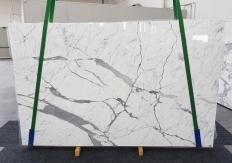 Lieferung polierte Unmaßplatten 2 cm aus Natur Marmor STATUARIO EXTRA 1249. Detail Bild Fotos