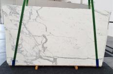 Lieferung polierte Unmaßplatten 2 cm aus Natur Marmor STATUARIO EXTRA 1288. Detail Bild Fotos