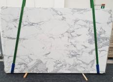 Lieferung polierte Unmaßplatten 2 cm aus Natur Marmor STATUARIO EXTRA 1437. Detail Bild Fotos