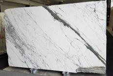 Lieferung polierte Unmaßplatten 2 cm aus Natur Marmor STATUARIO VENATO Z0333. Detail Bild Fotos