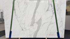 Lieferung polierte Unmaßplatten 2 cm aus Natur Marmor STATUARIO VENATO GL 959. Detail Bild Fotos