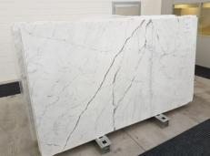 Lieferung polierte Unmaßplatten 2 cm aus Natur Marmor STATUARIO VENATO GL 1109. Detail Bild Fotos