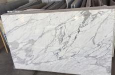 Lieferung polierte Unmaßplatten 3 cm aus Natur Marmor STATUARIO VENATO #1408. Detail Bild Fotos