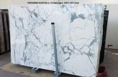 Lieferung polierte Unmaßplatten 2 cm aus Natur Marmor STATUARIO LV0134. Detail Bild Fotos