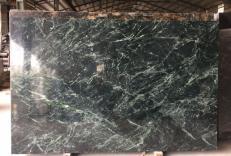 Lieferung polierte Unmaßplatten 2 cm aus Natur Marmor TAIWAN GREEN TW 2504. Detail Bild Fotos