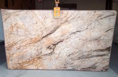 Lieferung polierte Unmaßplatten 2 cm aus Natur Quarzit TEMPEST CRISTALLO A0111. Detail Bild Fotos