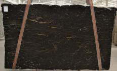 Lieferung polierte Unmaßplatten 3 cm aus Natur Granit TITANIUM BQ01198. Detail Bild Fotos