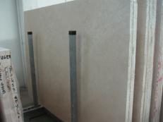 Lieferung geschliffene Unmaßplatten 2 cm aus Natur Travertin TRAVERTINO NAVONA C-S471. Detail Bild Fotos