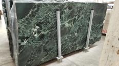 Lieferung polierte Unmaßplatten 2 cm aus Natur Marmor VERDE ALPI 1566M. Detail Bild Fotos